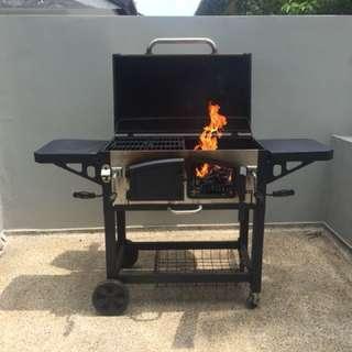 Premium Charcoal BBQ Grill