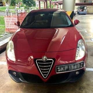 Car for lease or for purchase!: Alfa-Romeo Giulietta 1.4 Turbo twin clutch multiair