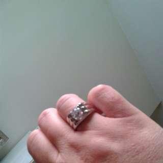 18K鑽石介子(仿鑽)
