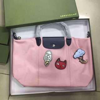 Longchamp Cuir Bonbon