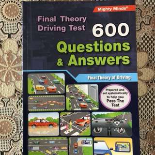 Final Theory Driving Test book