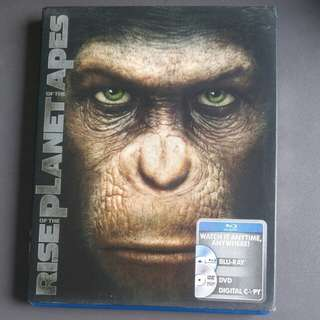Rise of The Planet Of The Apes Bluray