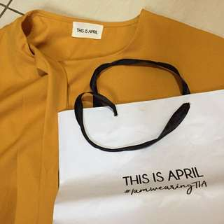 This Is April blouse
