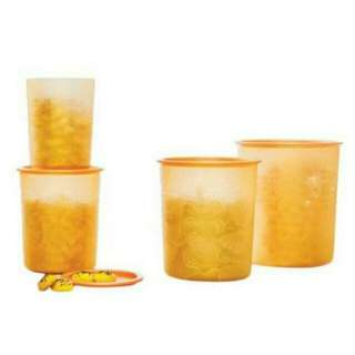 Golden Mosaic Canister Set Isi 4