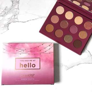colourpop you had me at hello palette