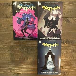 BATMAN DC Comics Volume 8 Superheavy / Volume 9 Bloom / Volume 10 Epilogue