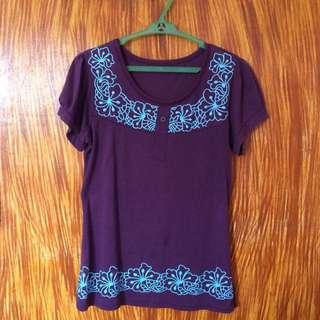 Violet / Purple Shirt