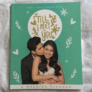 Til I Met You - JADINE Wedding Planning book