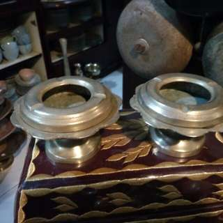 Ashtray tembaga antik A