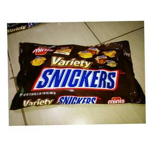 Snickers Assorted