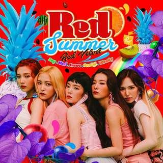 Red Velvet The Red Summer Album