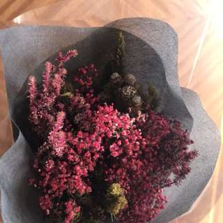 Medium Dried Flowers Bouquet