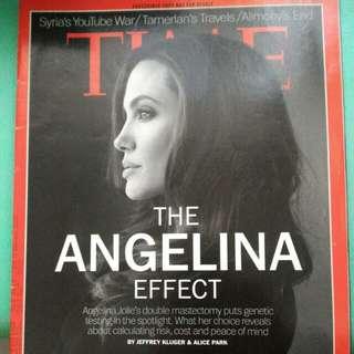 TIME - Angelina Jolie