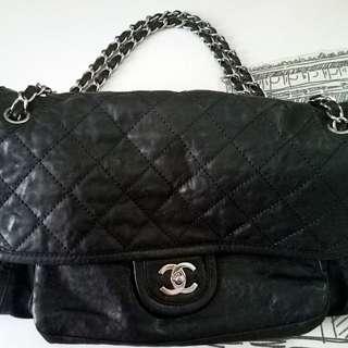 Chanel 牛皮caviar tote bag
