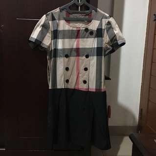 Mini Dress Burberry