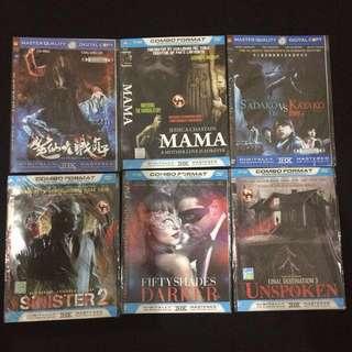 CD Film Horror, Thriller, Romantic (BDSM)