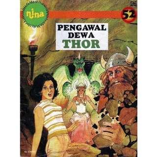 Ebook Nina Pengawal Dewa Thor