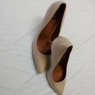Juan nude pump shoes