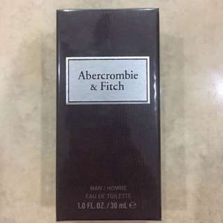 Abercrombie First Instinct Men EDT 30ml- sealed & authentic