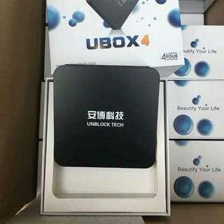 安博盒子第4代 C800 香港版 全球通用 直播電視  TV BOX LIVE TV LIVE FOOTBALL