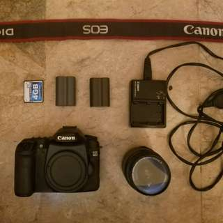 Canon 40D with 18-55 Kit lens
