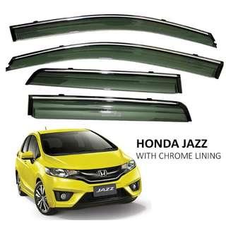 Honda Jazz (2014-2017) window visor