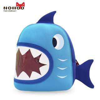 Original Nohoo Blue Shark Kid Backpack