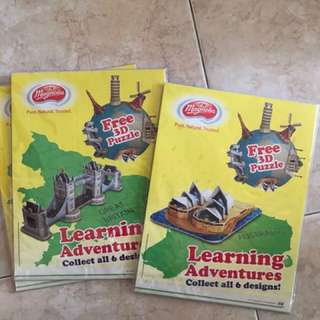 magnolia learning adventures - 3D puzzle