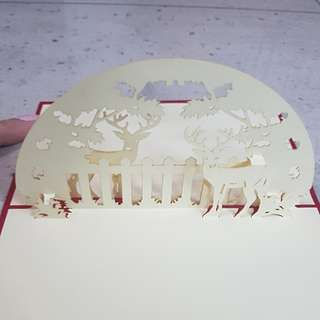 [Handmade Pop-up Card]