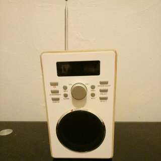 RADIO ALARM CLOCK!