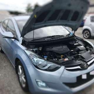 Hyundai Elantra 1.8 Auto Tahun 2012