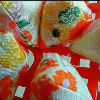 Bright floral flowers five stones   Assorted Designs And Patterns In Per Pack   Five Stones Batu Seremban