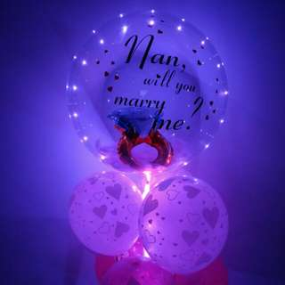 Custom clear balloon personal clear helium balloon