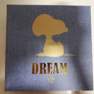 Innisfree Snoopy Denim Eco Bag (Gold bnib)