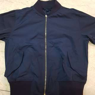 GU by Uniqlo bomber jacket (midnight blue)