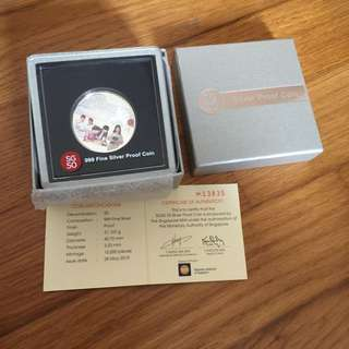 Singapore SG50 $5 silver proof coin
