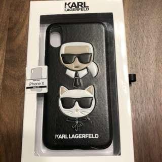 KARL LAGERFELD I PHONE X CASE