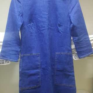 🚚 藍色連衣裙