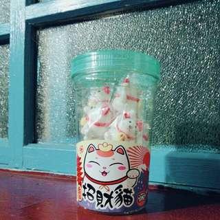 🚚 招財貓糖花Q皮棒