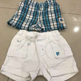 2pcs Pocoyo short pants (12-18mths)