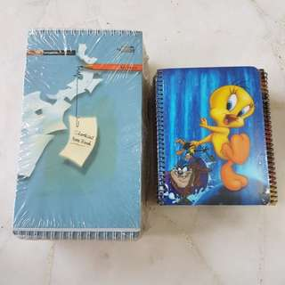 Brand new Looney Tunes Note Book/Short Hand Notes
