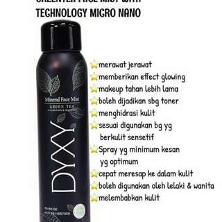 New Dyxy Mineral Facemist