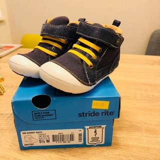 Brand new stride rite baby boy shoes size us 5.5 wide