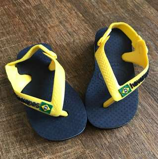 Havaianas sandals for babies