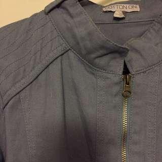 Denim-like jacket