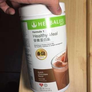 ☘️HERBALIFE康寶萊 HEALTHY MEAL營養蛋白素(朱古力味、雲尼拿味、士多啤梨味各1)(包郵)