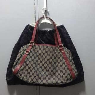 Repriced!!!Preloved Gucci Bag