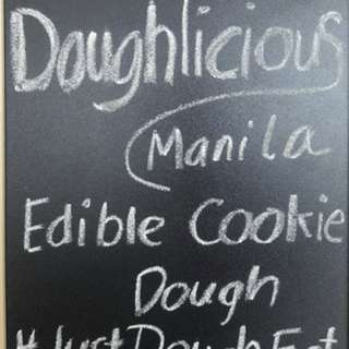 Doughlicious Manila: the edible cookie dough