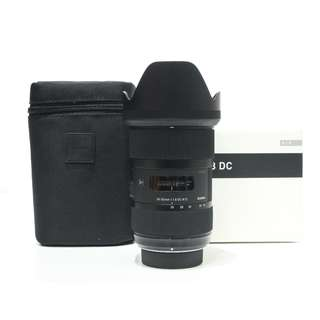 Sigma 18-35mm f1.8 DC HSM Art Lens (Nikon Mount)
