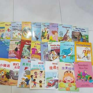 Kindergarten Story Book Chinese English Learn To Read